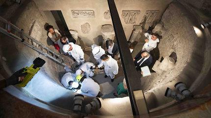 Vatikane ieškant dviejų kunigaikštyčių ir dingusios paauglės atvertos laidojimo kameros