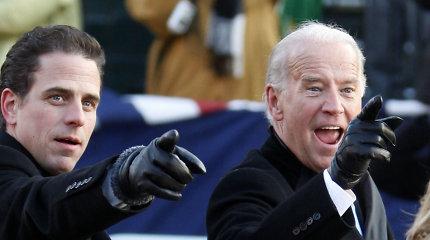 Buvusio JAV viceprezidento J.Bideno sūnus traukiasi iš Kinijos bendrovės valdybos
