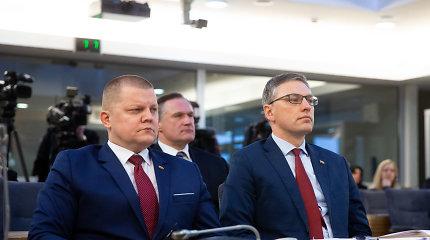 Vytautas Bakas neteko komiteto pirmininko posto, jį pakeis Dainius Gaižauskas