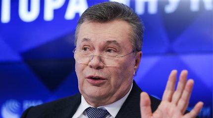 ES pratęsė sankcijas V.Janukovyčiui, atšaukė buvusiam Ukrainos premjerui S.Arbuzovui