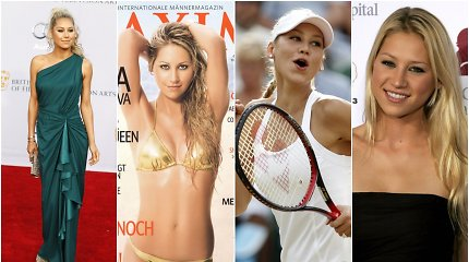 Negęstanti teniso žvaigždė Ana Kurnikova – sportininkė ar sekso simbolis?