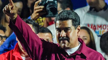 Venesuela išsiunčia iš šalies du JAV aukščiausio rango diplomatus