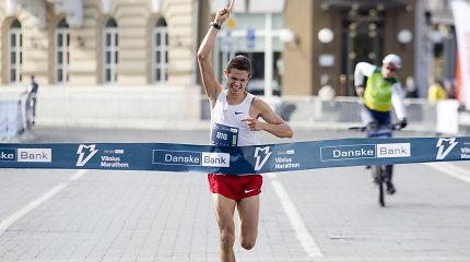 """Paaiškėjo """"Danske Bank Vilniaus maratonas"""" nugalėtojai"""
