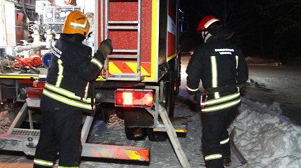 Pirmoji šiais metais gaisro auka Kauno rajone – ugnyje žuvo vyras