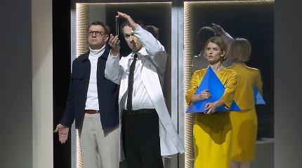"""Įvyko R.Kazlo spektaklio """"Rytojaus vaikas"""" premjera: nešė žinią apie ateitį, kuri jau čia"""