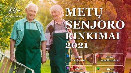 """""""Metų senjoro 2021"""" rinkimai: registruokite nuostabų senjorą"""