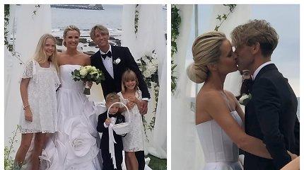 Italijoje ištekėjo šokėja Edita Daniūtė: amžiną meilę prisiekė mylimajam Mirko Gozzoli