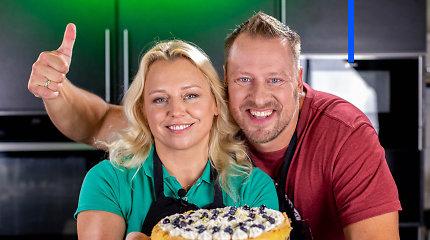 """""""Tarasovų virtuvėje"""" – šiltą vasarą primenantis gaivus sūrio pyragas"""