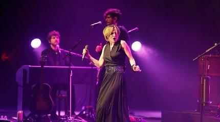 Į Lietuvą grįžusi Patricia Kaas pristatė naujausią albumą: muzikantai žėrė komplimentus Kaunui