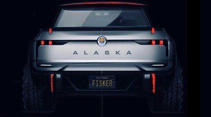 """Elektromobilių """"Fisker"""" kūrėjai nustebino užmojais: naujiena """"Alaska"""" turėtų būti madinga"""