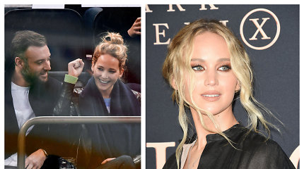 Rod Ailende Jennifer Lawrence ištekėjo už mylimojo Cooke'o Maroney: dalyvavo žymūs svečiai