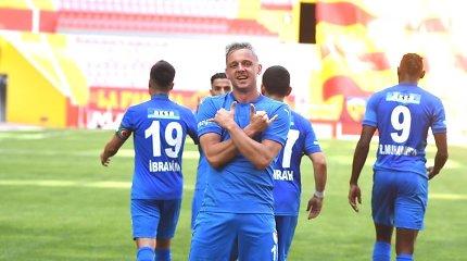 Virš A.Novikovo karjeros – klaustukas: klubas iškrito į Turkijos antrąją lygą