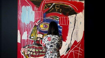 Basquiat paveikslas Niujorko aukcione nupirktas už 93,1 mln. dolerių