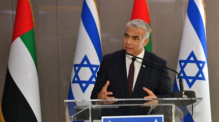 Izraelio ir JAE ministrai dalyvaus trišalėse derybose JAV