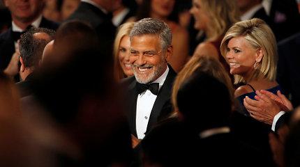 Nė vieno naujo vaidmens nesukūręs G.Clooney tapo daugiausiai uždirbusiu aktoriumi