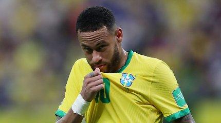 Pasaulio čempionato atranka: Neymaro ir brazilų siautulys bei Argentinos pergalė