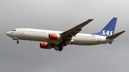 Derybas su streikuojančiais pilotais atnaujinusi SAS atšaukė daugiau skrydžių
