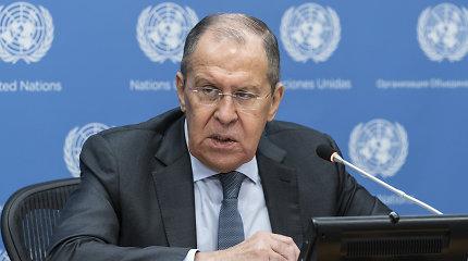 """S.Lavrovas: Malis pats kreipėsi į """"privačias Rusijos"""" karines bendroves"""