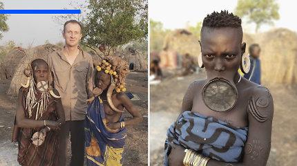 Afrikos gentis lankęs lietuvis A.Morkūnas – apie sukrečiančią moterų padėtį, plakimą rykštėmis ir poligamiją
