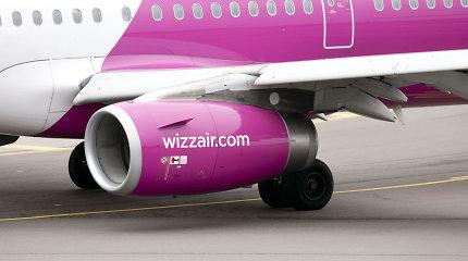 """""""Wizz air"""" skelbia 2022 m. vasaros skrydžių tvarkaraštį: pasiūlys 28 maršrutus"""