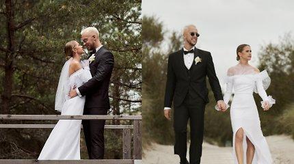 """""""Žemaitukas"""" Linas vedė mylimąją Rūtą: klube susipažinusi pora kartu – jau 8 metus"""