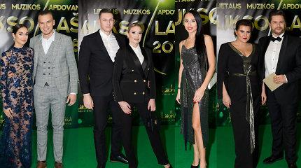 """Muzikos apdovanojimai """"Aukso lašas 2018"""": ant žalio kilimo suspindo lietuviškos scenos žvaigždės"""