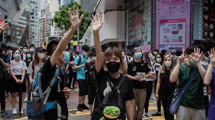 Kinija vetavo JAV siūlymą surengti JT Saugumo Tarybos posėdį dėl padėties Honkonge