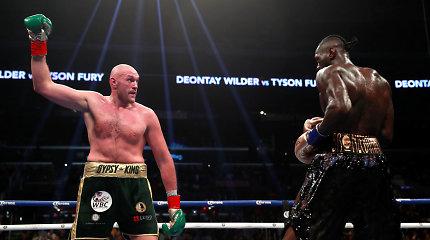 WBC paskelbė, jog D.Wilderis ir T.Fury susikaus dar kartą