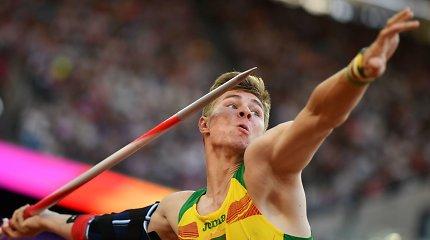 Sudrebino Palangą – Edis Matusevičius pagerino Lietuvos rekordą ir įvykdė olimpinį normatyvą