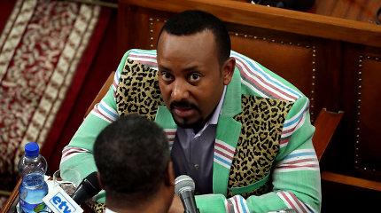 """Etiopijos premjero biuras: """"valstybė didžiuojasi"""" Abiy AhmedoNobelio premija"""