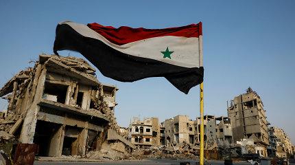 Damaskas: Izraelis surengė aviacijos ataką prieš karinį oro uostą Sirijoje
