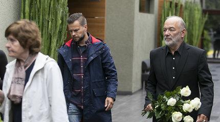 Atsisveikinimas su aktoriumi Rimgaudu Karveliu