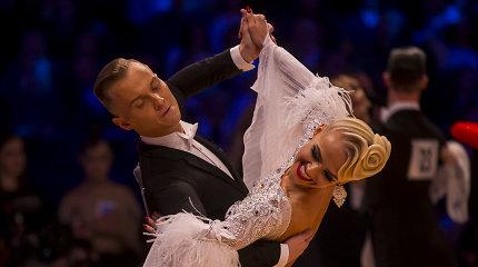Lietuvių pora užkariavo pasaulinę šokių sceną – Vilniuje parketas sužibo istoriniu auksu