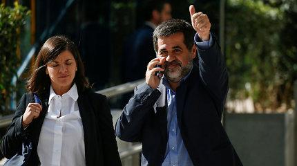 Kalintys Katalonijos separatistų lyderiai nutraukė bado streiką