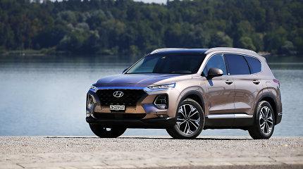 """""""Hyundai Santa Fe"""" sukanka 20 metų: kaip keitėsi šis automobilis?"""