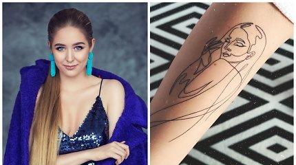 Monika Marija skelbia naują karjeros etapą: jį pradeda tatuiruote ir koncertiniu turu