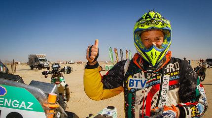 """Tomas Jančys įveikė dykumą: """"Africa Eco Race"""" varžybose finišavo 22-as"""
