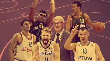 Lietuvos 30-mečio rinktinė: geriausi nepriklausomybės laikotarpio krepšininkai