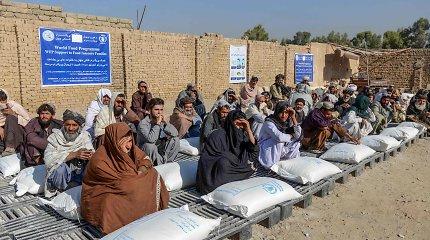 JT agentūros: daugiau kaip pusė afganistaniečių išgyvena didelę maisto krizę
