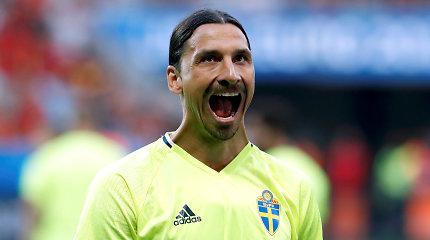 Švedijos futbolo superžvaigždei – įtarimai nušovus liūtą