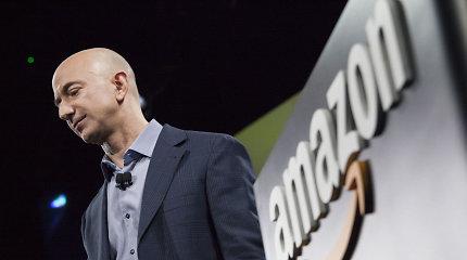 """""""Amazon"""" vadovas J.Bezosas įkūrė 10 mlrd. JAV dolerių fondą kovai su klimato kaita"""