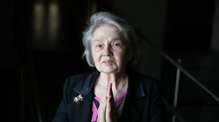 Pusšimtį vaidmenų teatre sukūrusi L.Štrimaitytė: nenorėjau būti nelaiminga, sena ir siautėjanti aktorė