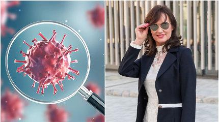 Šnipų žaidimai: Uhano koronaviruso kilmės teorija pagal J.Blažytę
