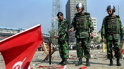 Bangladeše už 2001-ųjųsprogdinimą nuteisti myriop10 islamistų