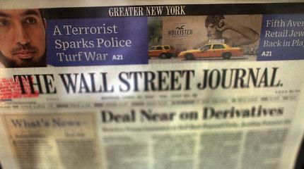 """Kinija dėl antraštės apie """"ligonį"""" atšaukė tris """"The Wall Street Journal"""" akreditacijas"""