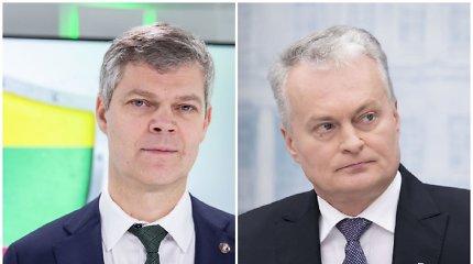 Pasiekus susitarimą su Maskva dėl šnipų mainų, G.Nausėda susitinka su VSD vadovu