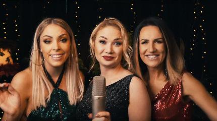 """""""Pop Ladies"""" pristatė žaismingą dainos """"Jingle Bells"""" versiją: """"Pasileidome plaukus"""""""