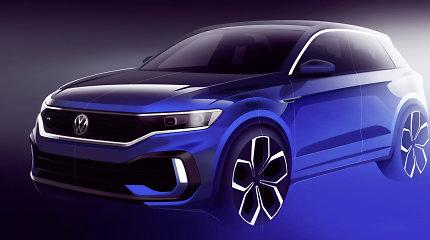 "Prie ""Volkswagen R"" šeimos prisijungs ""T-Roc R"""