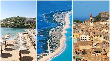 5 priežastys, kodėl verta keliauti į mažai ištyrinėtą Korfu