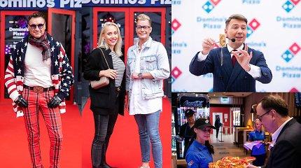 """Į Lietuvą žengė """"Domino's Pizza"""" tinklas: atidaryme Vilniuje – ir įžymybės"""